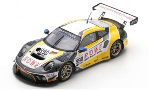 Porsche 992 GT3 R 1/43 Spark 911 (991) No.998 ROWE Racing 24h Spa 2019 F.Makowiecki/P.Pilet/N.Tandy diecast model cars