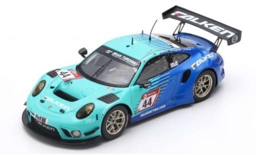 Porsche 992 GT3 R 1/43 Spark 911 No.44 Falken Motorsports 24h Nürburgring 2019 K.Bachler/J.Bergmeister/M.Ragginger/D.Werner diecast model cars