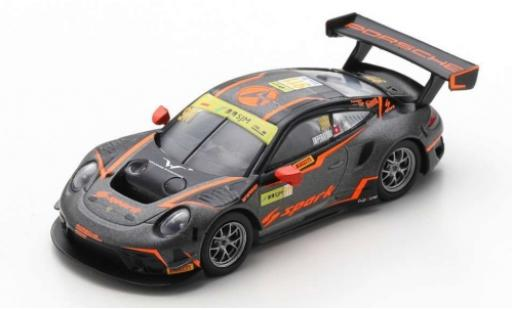 Porsche 992 GT3 R 1/18 Spark 911 No.911 Absolute Racing Fia GT World Cup Macau 2019 A.Imperatori diecast model cars
