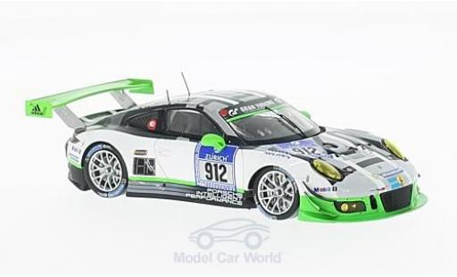 Porsche 991 SC 1/43 Spark GT3 R No.912 Manthey Racing 24h Nürburgring 2016 R.Lietz/J.Bergmeister/M.Christensen/F.Makowiecki diecast