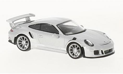 Porsche 991 GT3 RS 1/64 Spark 911 grise 2016