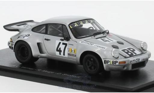 Porsche 930 RSR 1/43 Spark 911 No.47 24h Le Mans 1977 A.C.Verney/R.Metge/D.Snobeck/H.Striebig coche miniatura