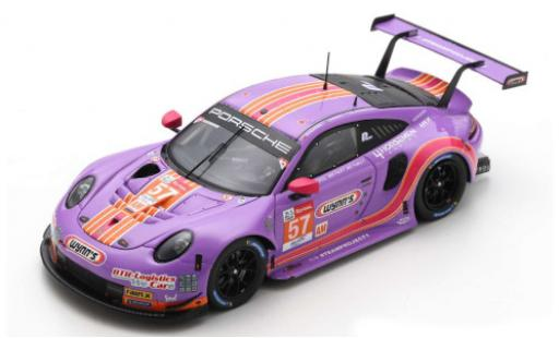 Porsche 992 RSR 1/43 Spark 911 No.57 Team Project 1 - 4 Horsemen Racing 24h Le Mans 2020 J.Bleekemolen/F.Fraga/B.Keating diecast model cars