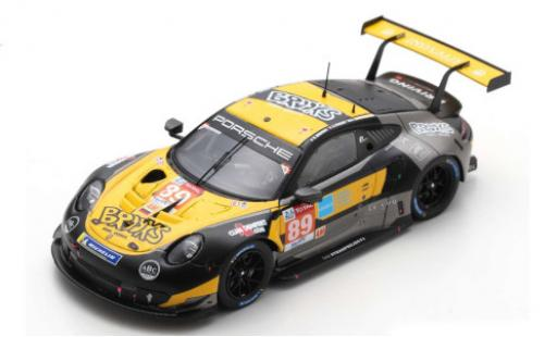 Porsche 992 RSR 1/43 Spark 911 No.89 Team Project 1 Brooks Real Estate 24h Le Mans 2020 S.Brooks/A.Laskaratos/J.Piguet diecast model cars