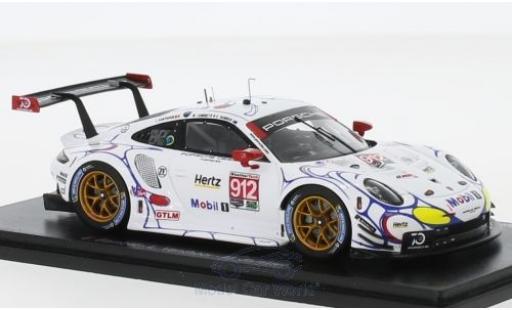 Porsche 991 RSR 1/43 Spark 911 No.912 GT Team Petit Le Mans 2018 E.Bamber/L.Vanthoor/M.Jaminet diecast model cars