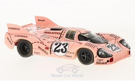 Porsche 917 K 1/43 Spark /20 No.23 Pink Pig 24h Le Mans 1971 R.Joest/W.Kauhsen miniature
