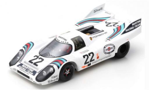 Porsche 917 1971 1/18 Spark K No.22 24h Le Mans H.Marko/G.van Lennep diecast model cars