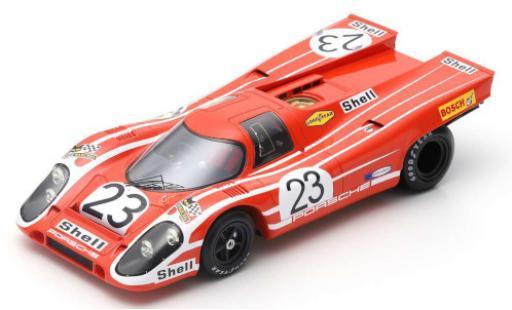 Porsche 917 1970 1/18 Spark K No.23 24h Le Mans R.Attwood/H.Hermann diecast model cars