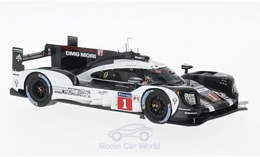Porsche 919 2016 1/43 Spark Hybrid No.1 Team 24h Le Mans T.Bernhard/M.Webber/B.Hartley diecast model cars