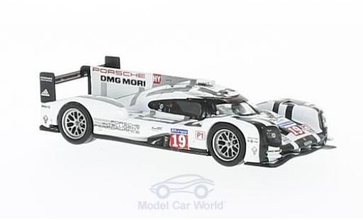 Porsche 919 1/64 Spark Hybrid No.19 24h Le Mans 2015 N.Hülkenberg/E.Bamber/N.Tandy miniature