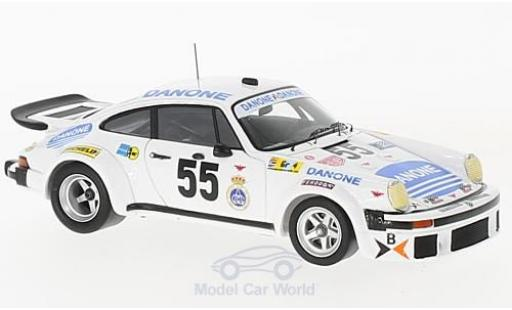 Porsche 934 1977 1/43 Spark No.55 Danone 24h Le Mans J.Fernandez/E.Baturone/R.Tarradas diecast model cars