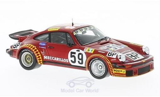 Porsche 934 1977 1/43 Spark No.59 24h Le Mans F.Servanin/L.Ferrier/F.Hummel miniature