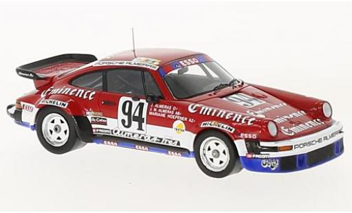 Porsche 934 1/43 Spark No.94 Eminence 24h Le Mans 1980 J.Almeras/J-M.Almeras/M.Hoepfner miniature