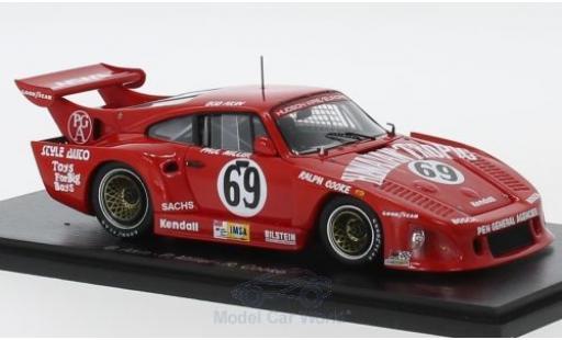 Porsche 935 1980 1/43 Spark K3 No.69 Hawaiian Tropic 24h Le Mans B.Akin/P.Miller/R.Kent-Cooke miniature