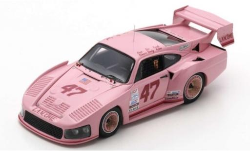 Porsche 935 1/43 Spark M16 No.47 Lancome 24h Daytona 1983 P.Romero/D.Bundy/F.Rubino/D.Whittington