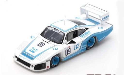 Porsche 935 1/43 Spark No.09 6h Riverside 1983 M.Andretti/A.J.Foyt/B.Whittington diecast model cars