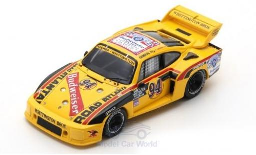 Porsche 935 1979 1/43 Spark No.94 Kremer - Whittington Budweiser 6h Watkins Glen D.Whittington/K.Ludwig/B.Whittington miniature