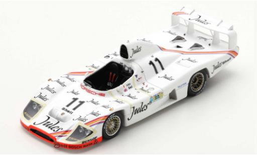 Porsche 936 1/43 Spark /81 RHD No.11 Jules 24h Le Mans 1981 J.Ickx/D.Bell