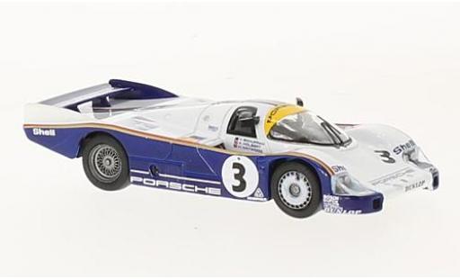 Porsche 956 1983 1/43 Spark No.3 24h Le Mans 1983 A.Holbert/H.Haywood/V.Schuppan miniature
