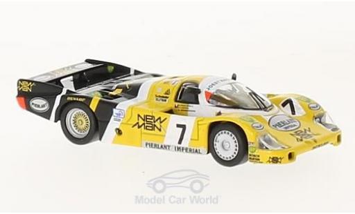 Porsche 956 1984 1/64 Spark No.7 Joest Racing New Man 24h Le Mans H.Pescarolo/K.Ludwig miniature