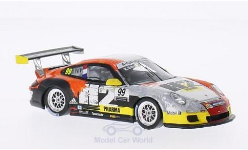 Porsche 997 GT3 Cup 1/43 Spark GT3 Cup No.99 H2 Pharma Carrera Cup Paul Ricard 2013 K.Estre miniature