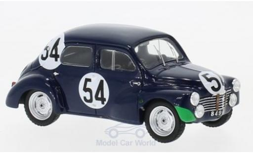 Renault 4CV 1/43 Spark 1063 No.54 24h Le Mans 1951 J.Lecat/H.Senfftleben modellautos