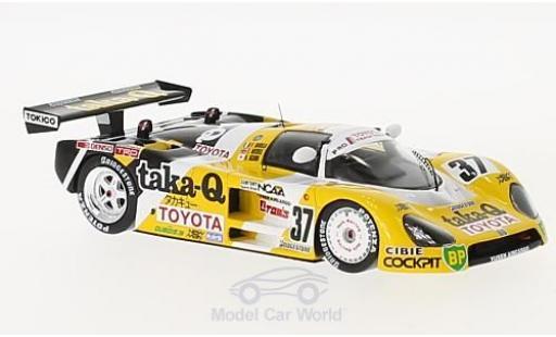 Toyota 88C 1/43 Spark No.37 24h Le Mans 1988 P.Barilla/T.Needell/H.Ogawa miniature
