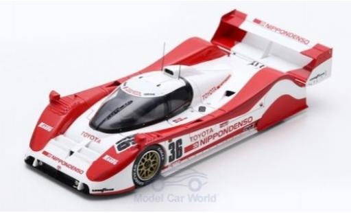 Toyota TS010 1/43 Spark No.36 SWC Autopolis 1991 G.Lees/A.Wallace diecast model cars