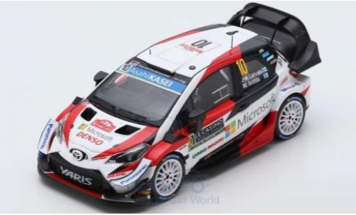 Toyota Yaris 1/43 Spark WRC No.10 Gazoo Racing WRT Rallye WM Rally Monte Carlo 2019 J-M.Latvala/M.Anttila diecast model cars