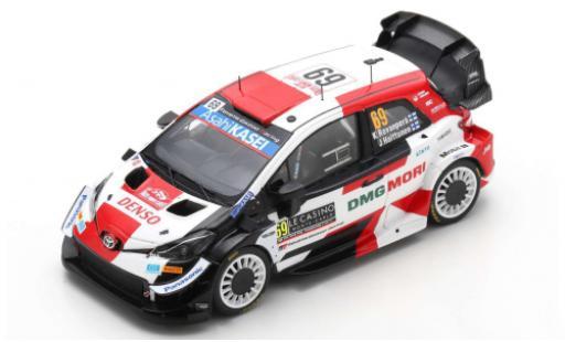 Toyota Yaris 1/43 Spark WRC No.69 Gazoo Racing Rallye WM Rallye Monte Carlo 2021 K.Rovanperä/J.Halttunen miniature