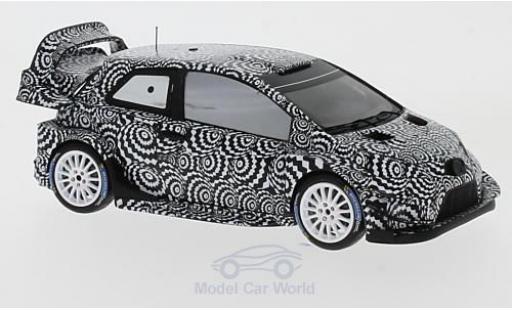 Toyota Yaris 1/43 Spark WRC Rallye Monte Carlo 2017 Test J-M.Latvala/M.Anttila diecast model cars