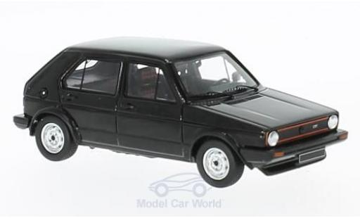 Volkswagen Golf V 1/43 Spark 1 GTI black 1976 diecast model cars