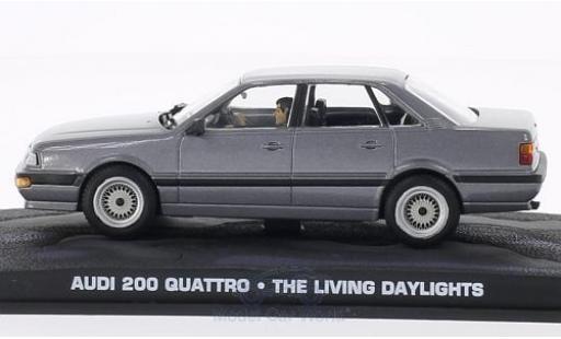Audi 200 quattro 1/43 SpecialC 007 200 Quattro metallise grise James Bond 007 Der Hauch des Todes ohne Vitrine miniature