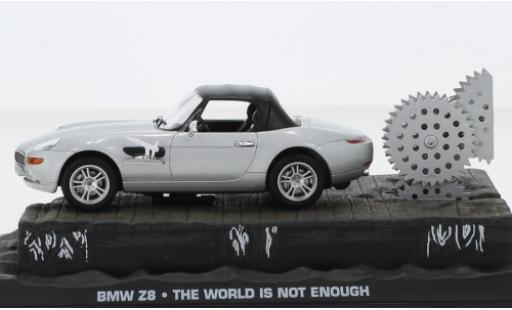 Bmw Z8 1/43 SpecialC 007 grise James Bond 007 la Welt ist nicht genug sans figurine miniature