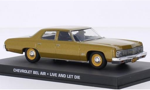 Chevrolet Bel Air 1/43 SpecialC 007 gold James Bond 007 Leben und sterben lassen ohne Vitrine diecast model cars