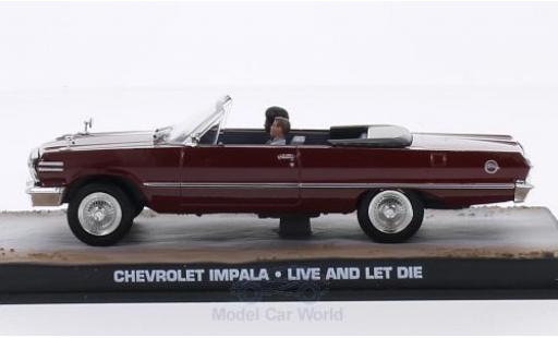 Chevrolet Impala 1/43 SpecialC 007 Convertible rouge James Bond 007 Leben und sterben lassen ohne Vitrine miniature