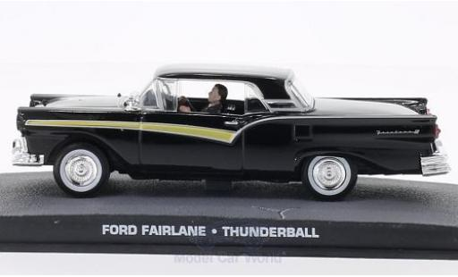 Ford Fairlane 1/43 SpecialC 007 noire James Bond 007 Feuerball ohne Vitrine miniature