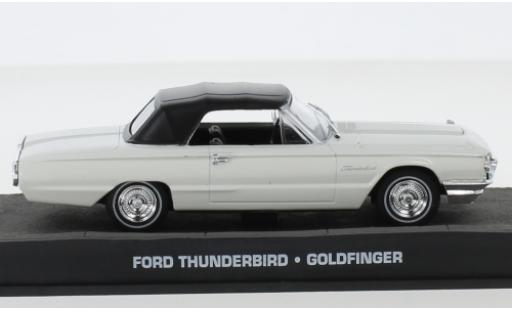 Ford Thunderbird 1/43 SpecialC 007 blanche James Bond 007 1964 Goldfinger sans figurines miniature