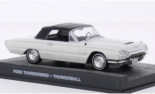 Ford Thunderbird 1/43 SpecialC 007 bianco James Bond 007 1965 boule de feu sans figurine sans Vitrine modellino in miniatura