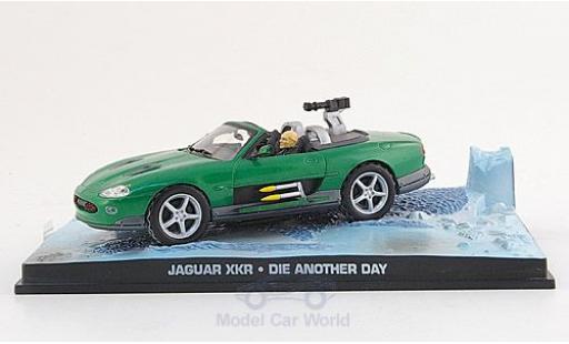 Jaguar XKR 1/43 SpecialC. 007 green James Bond 007 2002 Stirb an einem anderen Tag ohne Vitrine diecast