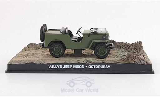 Jeep Willys 1/43 SpecialC 007 M 606 oliv James Bond 007 1983 Octopussy ohne Vitrine miniature