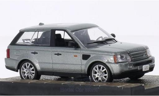 Land Rover Range Rover 1/18 SpecialC 007 Sport métallisé grise James Bond 007 2006 Ein Quantum Trost ohne Vitrine miniature