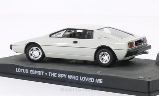 Lotus Esprit 1/43 SpecialC 007 blanche RHD James Bond 007 Der Spion der mich liebte ohne Vitrine miniature