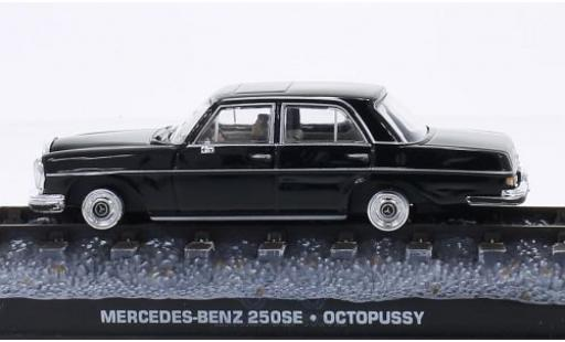 Mercedes 250 1/43 SpecialC 007 SE (W108) noire James Bond 007 Octopussy ohne Vitrine miniature