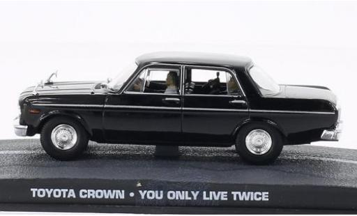 Toyota Crown 1/43 SpecialC 007 noire James Bond 007 Man lebt nur zweimal ohne Vitrine