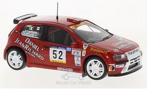 Fiat Punto 1/43 SpecialC 100 S1600 No.52 Rallye WM Rallye Catalunya 2001 A. Dallavilla/D. Fappani ohne Vitrine miniature