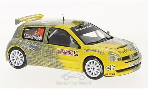Renault Clio 1/43 SpecialC 100 S1600 No.39 Rallye WM Rallye Monte Carlo 2004 N.Bernardi/D.Giraudet ohne Vitrine