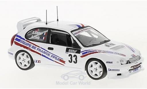 Toyota Corolla 1/43 SpecialC 100 WRC No.33 Rallye WM Rallye Tour de Corse 2000 S.Loeb/D.Elena ohne Vitrine