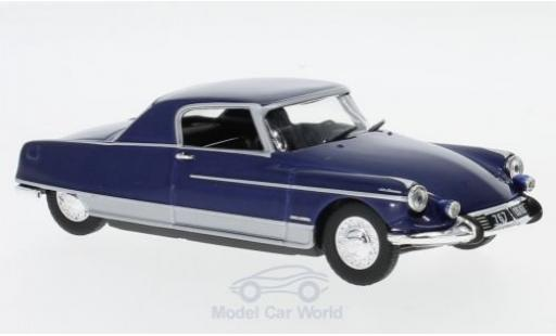 Citroen DS 1/43 SpecialC 108 Coupe Le Dandy metallise bleue 1967 ohne Vitrine miniature