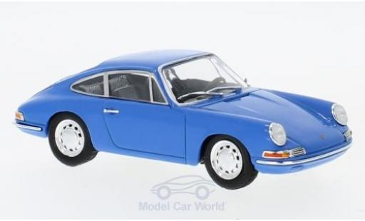 Porsche 911 1/43 SpecialC 111 901 bleue 1964 Collection miniature